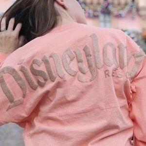Disneyland peach long sleeve!